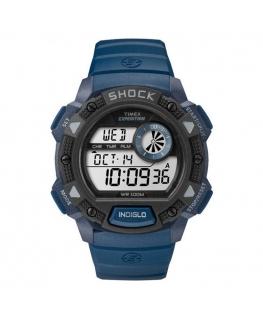 Orologio Timex Base Shock blu - 44 mm