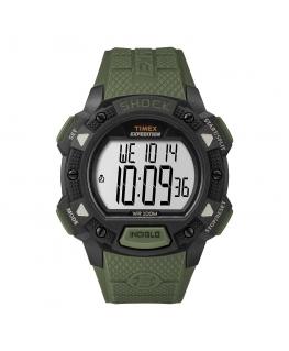 Orologio Timex Base Shock verde - 44 mm
