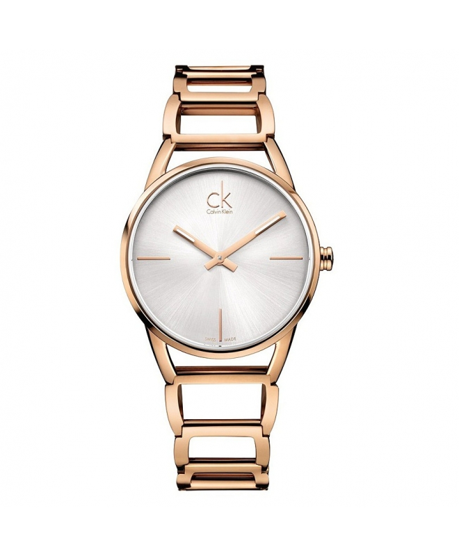 Orologio Calvin Klein Stately oro rosa - 34 mm - galleria 1