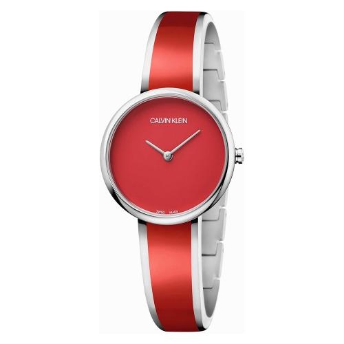 Orologio Calvin Klein Seduce rosso - 30 mm