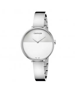 Orologio Calvin Klein Rise acciaio bianco - 38 mm
