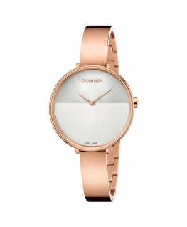 Orologio Calvin Klein Rise acciaio oro rosa - 38 mm