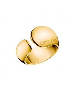 Anello Calvin Klein Informal dorato donna KJ6GJR1001