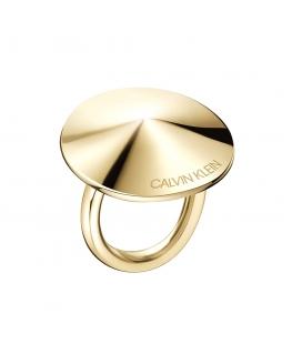 Anello Calvin Klein Spinner dorato