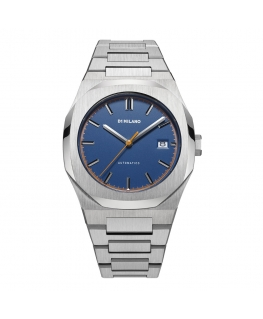 Orologio D1 Milano Atlas deep blu Automatic - 41.5 mm
