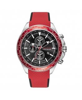 Orologio Nautica Ocean Beach uomo rosso - 45 mm
