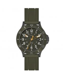 Orologio Timex Allied verde gomma - 43 mm