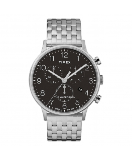 Orologio Timex Waterbury chrono nero - 42 mm