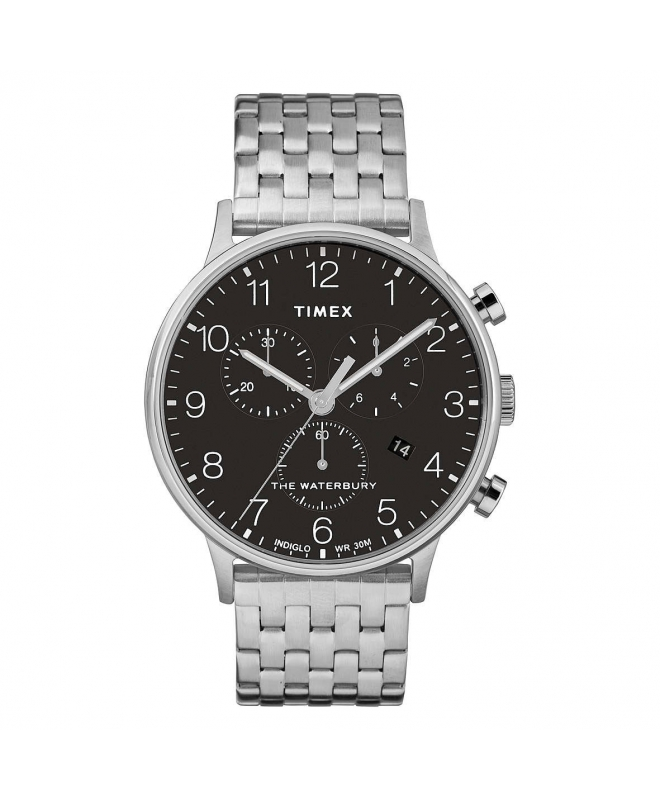 Orologio Timex Waterbury chrono nero - 42 mm - galleria 1