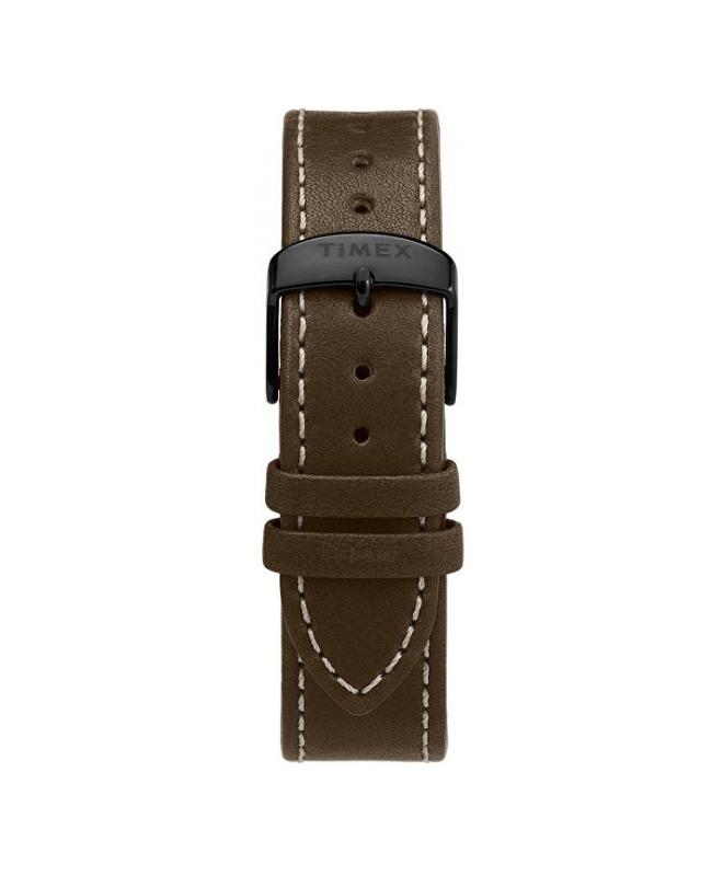 Orologio Timex Waterbury chrono pelle marrone - 42 mm - galleria 2