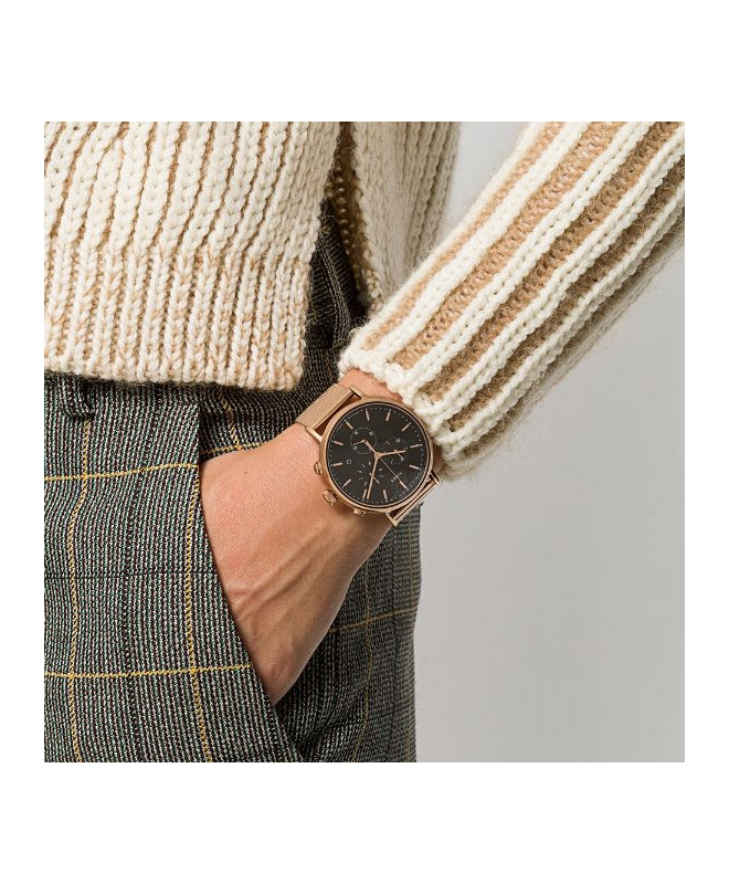 Orologio Timex Fairfield chrono oro rosa - 41 mm - galleria 2