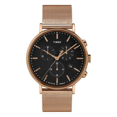 Orologio Timex Fairfield chrono oro rosa - 41 mm