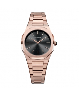 Orologio D1 Milano Ultra Thin donna oro rosa - 34 mm