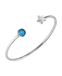 Bracciale Morellato Drops star blu - Ø 6.3 cm donna SCZ976