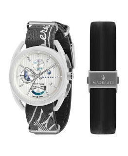 Orologio Maserati Trimarano Yacht timer nero - 41 mm