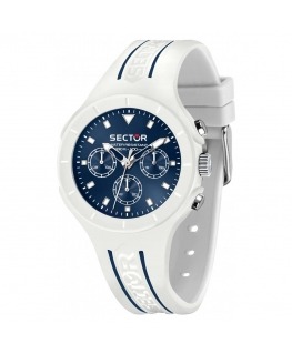 Orologio Sector Speed Touch multi bianco / blu - 41 mm
