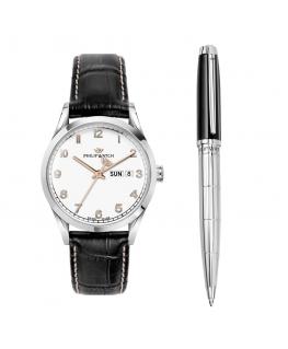 Philip Watch Sunray 39mm r8251180010 + pen j820629