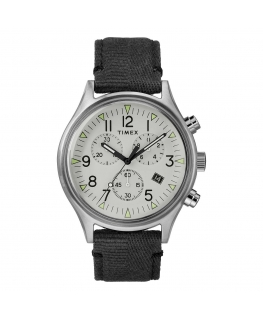 Orologio Timex MK1 pelle grigio - 42 mm