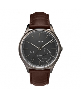 Orologio Timex IQ Smarwatch uomo marrone - 41 mm