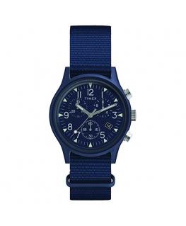 Orologio Timex MK1 tessuto blu - 40 mm