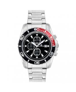Orologio Lorenz Sport crono rosso / nero - 42 mm
