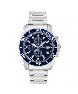 Orologio Lorenz Sport crono blu - 42 mm
