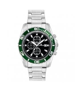 Orologio Lorenz Sport crono verde - 42 mm