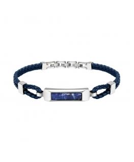 Bracciale Morellato Lux blu - 21 cm uomo SASV04