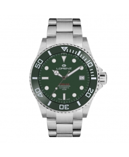 Orologio Lorenz Hidro-Sub Automatic swiss made verde - 42 mm