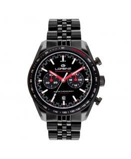Orologio Lorenz Granpremio Limited Edition nero / rosso - 42 mm
