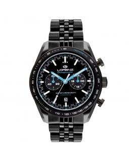 Orologio Lorenz Granpremio Limited Edition nero / blu - 42 mm