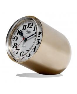 Orologio da tavolo Static Lorenz dorato satinato