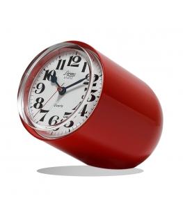 Orologio da tavolo Static Lorenz rosso satinato