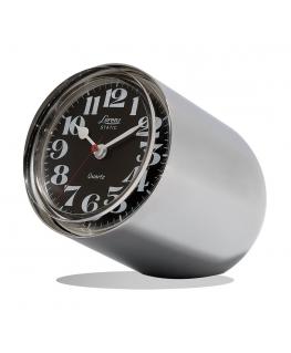 Orologio da tavolo Static Lorenz silver lucido