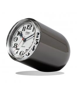 Orologio da tavolo Static Lorenz grigio lucido