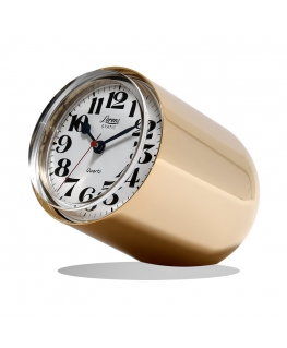 Orologio da tavolo Static Lorenz dorato lucido