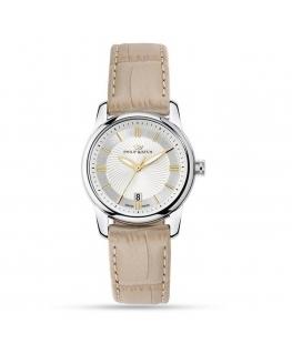 Orologio Philip Watch Kent donna pelle beige 30 mm