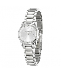 Orologio Philip Watch Kent donna silver - 30 mm donna