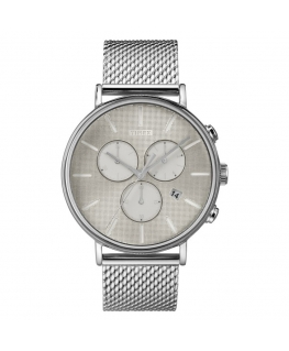 Orologio Timex Fairfield Supernova silver - 41 mm