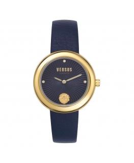 Orologio Versus Lea donna pelle blu - 36 mm