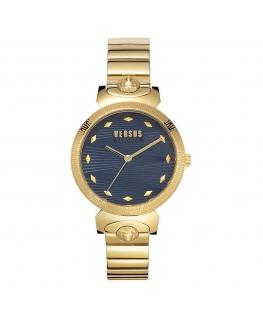 Orologio Versus Marion dorato blu - 36 mm